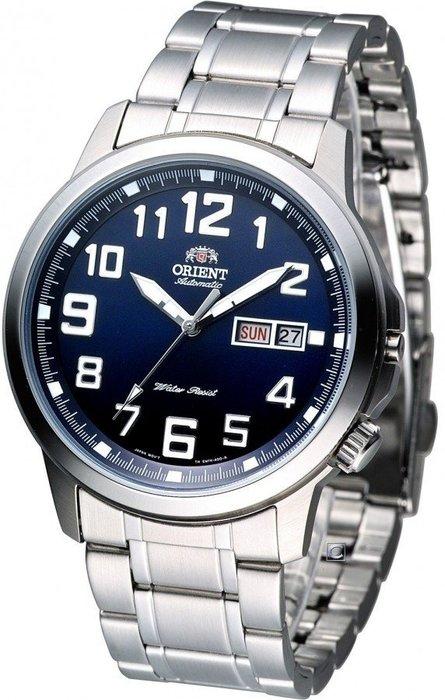 【元電】日本 ORIENT FEM7K008D 經典 東方機械後蓋透明自動錶 全新公司貨 另有經銷CASIO手錶