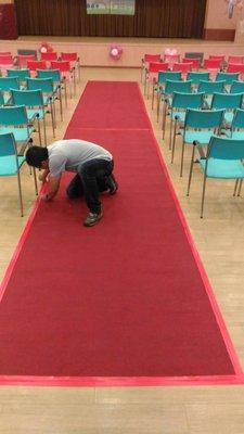 星光大道 尾牙 頒獎典禮 畢業典禮 婚禮紅地毯 金馬獎紅地毯 金鐘獎紅地毯 洽 熊愛的花苑 可租可買