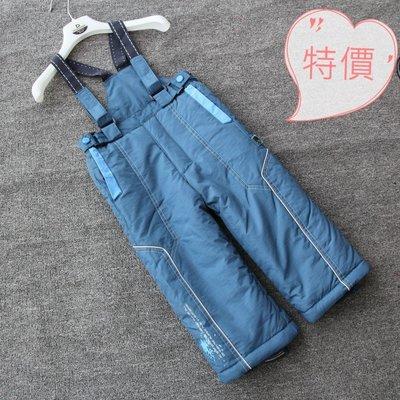 東大門平價鋪  外貿委單 外國男女童滑雪褲,兒童背帶加厚防風防水褲,90-150中小童棉褲