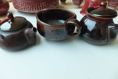 陸羽1987年茶具3件、議價
