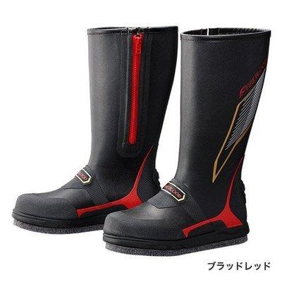 【NINA釣具】SHIMANO FIRE BLOOD FB-155P 黑色長統磯釣防滑釘鞋