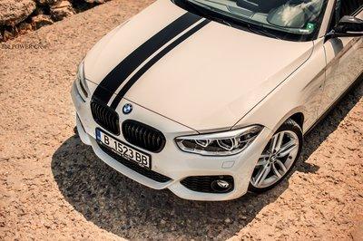 【樂駒】BMW 原廠 改裝 套件 外觀 F20 F21 LCI M Performance 黑色 水箱罩 黑鼻頭 空力