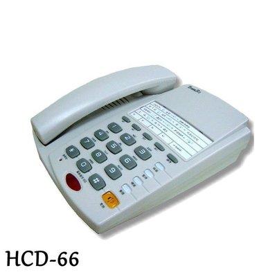 TransTEL HCD-66 電子交換機專用話機