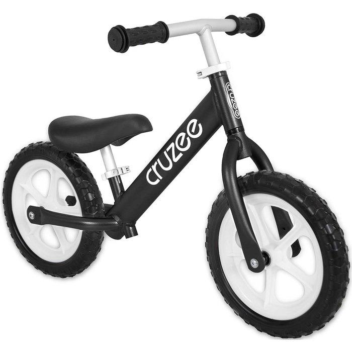 (CRUZEE) 超輕量鋁合金平衡滑步車 Push Bike 黑色 (共九色)