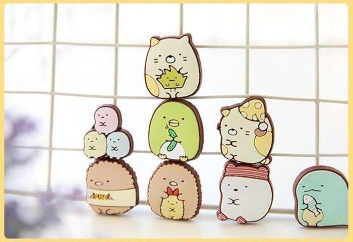 日本正品 san-x 角落 牆角生物 すみっコぐらし冰箱貼軟膠磁鐵
