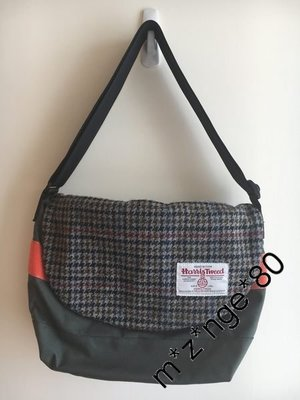 Floppy x Harris Tweed Messenger Bag 側孭袋 斜孭袋 Limited Edition