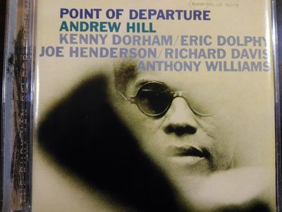 Andrew Hill ~ Point Of Departure 等二張專輯。