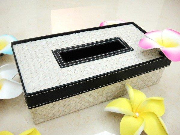 Y【永晴峇里島】巴里島藤草編方形面紙盒,增添異國風味,居家,民宿,飯店都好用-面紙盒5