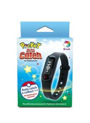 【光華商場-飛鴻數位】(現貨)BROOK  Pokemon GO 精靈寶可夢 藍牙手環 自動抓寶