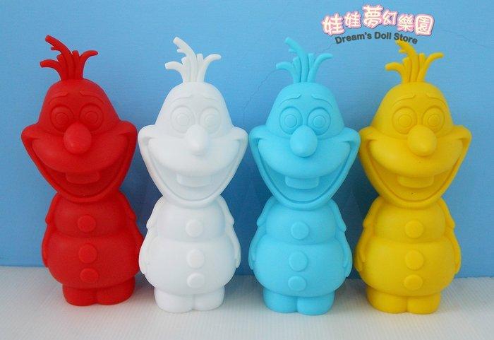 可愛雪寶公仔筆袋~冰雪奇緣~雪寶筆袋置物盒~正版授權~立體造型