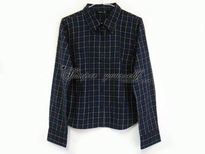 二手商品 100% 台灣專櫃真品 agnes b 女 長袖 襯衫 法國製造