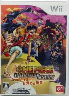 【二手遊戲】Wii 航海王2 無限巡航 第2章 覺醒的勇者 海賊王2 One Piece 日版 【台中恐龍電玩】