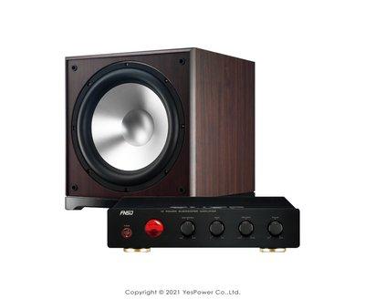 """*來電優惠*SUB-15 超重低音專用擴大機+15""""超重低音喇叭 擴大機內建揚聲器保護線路;超低音喇叭採用強化鋁合金振膜"""