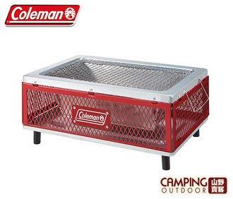 【山野賣客】Coleman 酷立架摺疊桌上烤肉箱 # CM-31236
