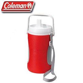 【山野賣客】美國ColemanCM-0449J 1.89公升 野餐保冷水壺(紅) 水壺 冰桶 保冷 保溫 台北市