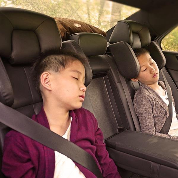 汽車配件兒童側靠頭枕安全護頸U型枕 【優の館】