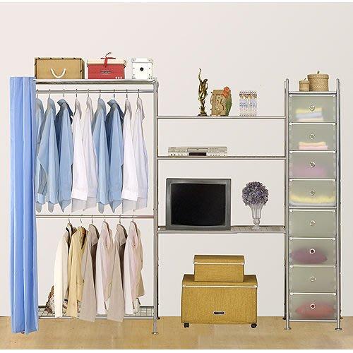 【中華批發網DIY家具】D-64-04-W2型90+90+pp電視衣櫥置物櫃-(前罩)不織布