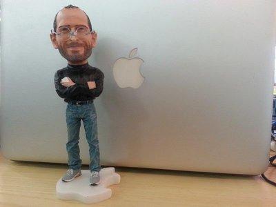 蘋果創辦人賈伯斯公仔(Steve Jobs) iphone ipad 補貨中