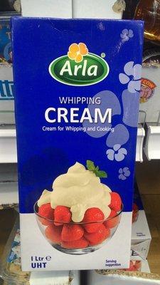 【日日小舖外送代購】好市多 Arla UHT Whipping Cream 動物性鮮奶油 1公升 丹麥產 高打發性