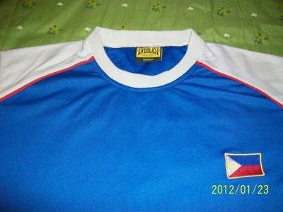 實戰~~菲律賓隊實戰球員練習球衣(藍色)一件~~非ibaf、中華隊、亞洲職棒大賽、實戰球