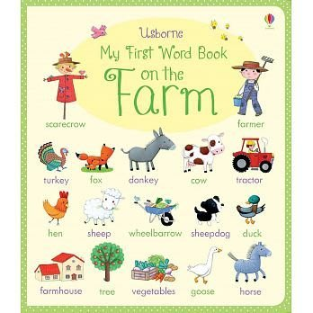 My First Word Book on the Farm 遊戲書
