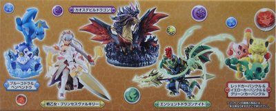 MEGAHOUSE 龍族拼圖 PULZZLE AND DRAGONS FIGURE 全5種 (BUY-81610-店)