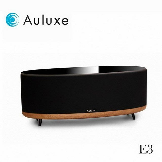 Auluxe E3 無線喇叭 體感暢享 藍牙 WIFI 支援多房音樂播放系統 黑色 公司貨
