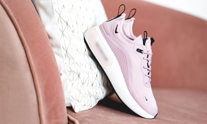 【Cheers】NIKE W AIR MAX DIA AQ4312-500 粉紫 粉色 粉紅 紫羅蘭 增高 女鞋