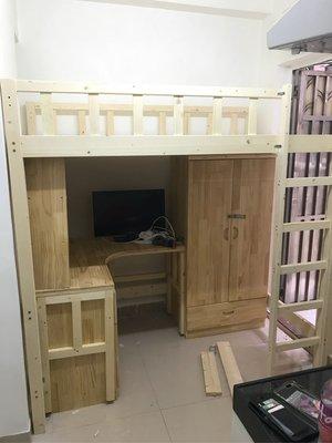 零甲醛❤任何尺寸定制❤高架木床❤衣柜❤書檯❤