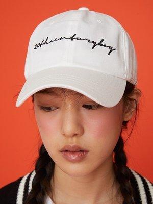 【Easy GO 韓國潮牌代購】MSKN2ND 20世紀英文字棒球帽
