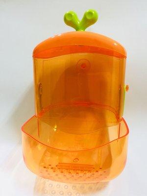 胡蘿蔔兔子飼料罐