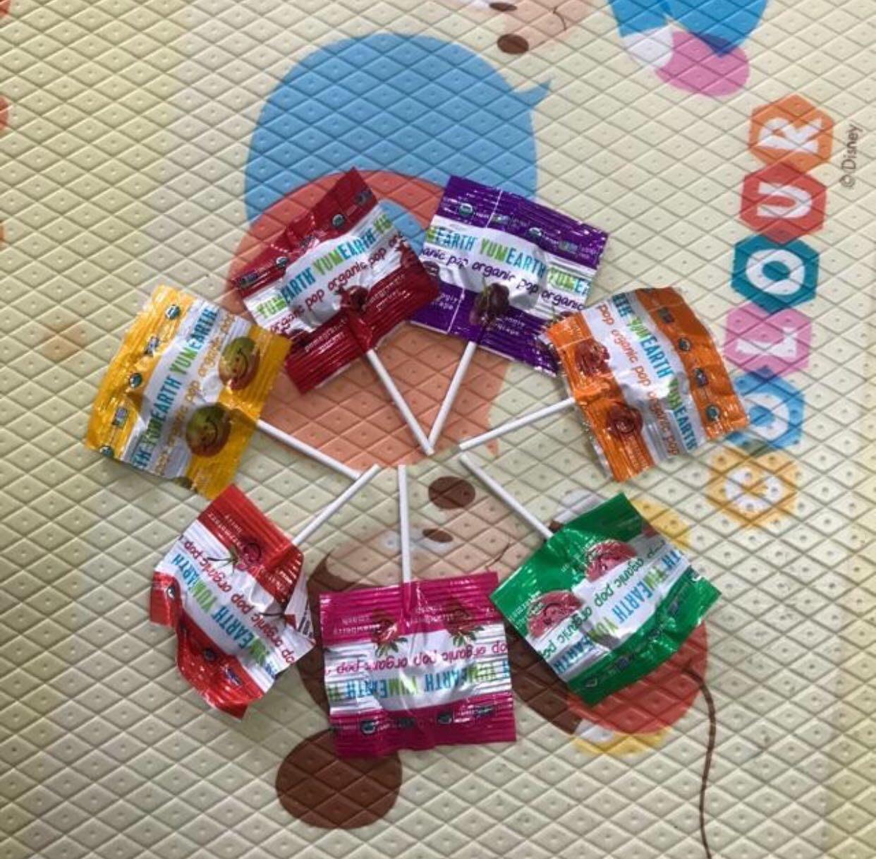 現貨❤️Yumearth 有機棒棒糖 軟糖 草莓 綜合 天然萬聖節 交換禮物