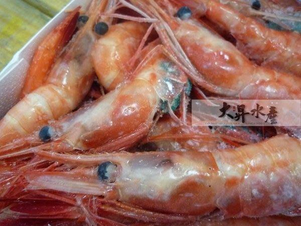 【大昇水產】行家首選日本進口船內急凍爆卵生食甘蝦/甜蝦2L
