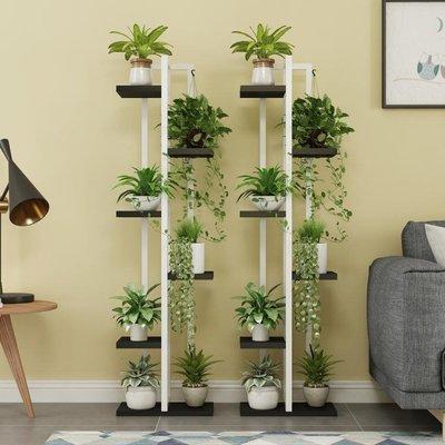 客廳花架鐵藝多層室內多功能多肉綠蘿吊蘭花架子省空間落地式  YDL