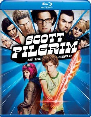 BD 全新美版【歪小子史考特】【Scott Pilgrim vs. The World 】Blu-ray 藍光