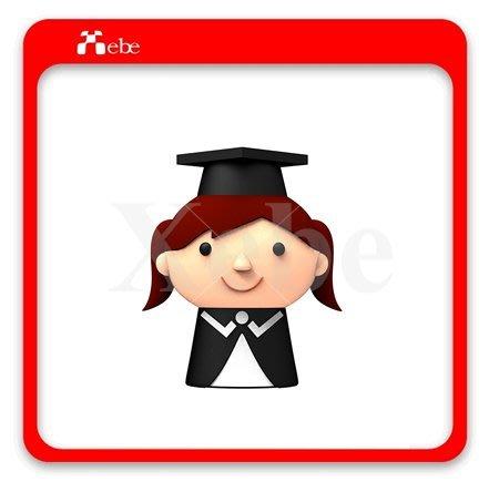 畢業禮物 女學生造型隨身碟8GB- 造型隨身碟 學生禮物 客製化商品