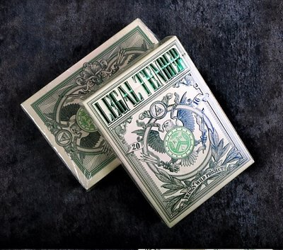 [808 MAGIC]魔術道具 US LEGAL TENDER 標準版 PLAYING CARDS
