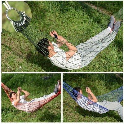 網床家用吊床成人睡覺戶外兒童成人漁網式秋千室內搖籃椅網狀吊床