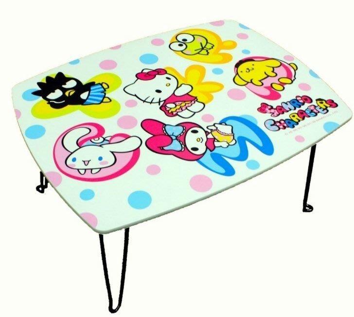 芊金小坊 正版Hello kitty三麗鷗家族和室桌 小桌子 折疊桌