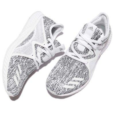 免運ADIDAS RUNNING W EDGE LUX 2.0 愛迪達 雪花 輕量 慢跑潮流時尚鞋 BY4563 女潮流時尚鞋 白黑 台北市