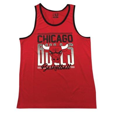 Cover Taiwan 官方直營 UNK 芝加哥公牛隊 NBA Air Jordan 喬丹 坦克背心 海灘 球衣 紅色