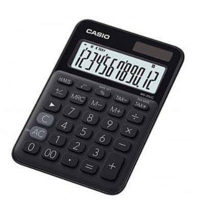 【天龜】 CASIO 時尚甜美 蜜黑糖馬卡龍計算機 12位數 利潤率計算 稅金計算 MS-20UC BK 台中市