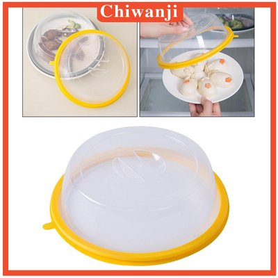 5Pcs Ventilated Microwave Food Plate Cover Set