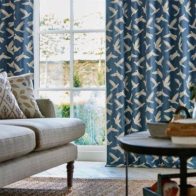 【Uluru】英國期貨窗簾布藝 北歐簡約 PAPER DOVES (4色) 海歐 訂製窗簾 捲簾 羅馬簾