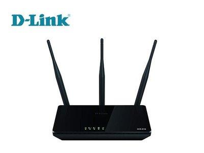 「Sorry」D-LINK 友訊 DIR-819 AC750雙頻無線【750M 三天線 設定簡單 高功率】