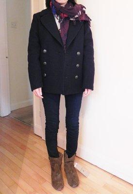 現貨在英 H&M x Isabel Marant oversize boyish外套