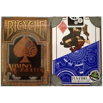 【USPCC 撲克】BICYCLE amazing adventure-steampunk 蒸氣龐克漫畫版撲克