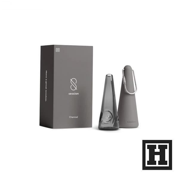 [H Market] 美國原裝進口 Session Goods 攜帶式 玻璃菸斗 矽膠包覆 Pipe 煙斗 420