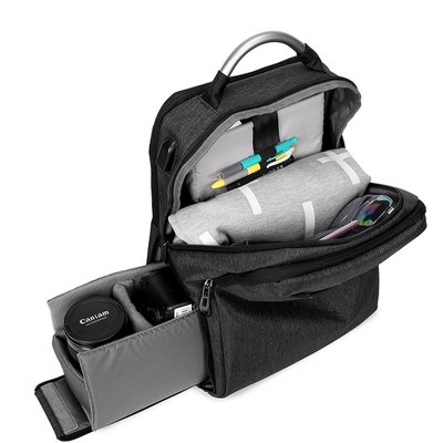 相機包Flyleaf單反相機包佳能尼康微單數碼攝影包男女雙肩電腦包旅行包