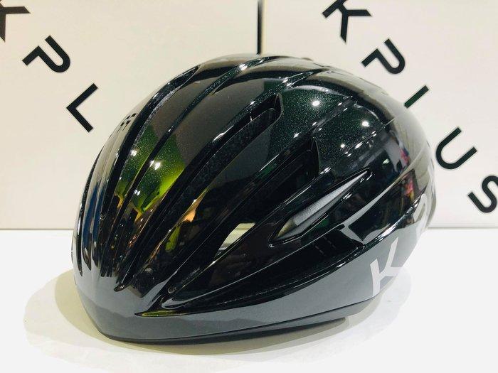 【皇小立】KPLUS QUANTA 空力安全帽 黑色 / KASK MONTON POC OGK GIRO